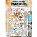 AALL and Create Stencil - #87 Totally Dotty